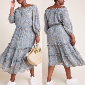 NWT Anthropologie Off-the-Shoulder Dress